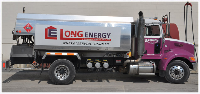 Long Energy Oilheat Truck